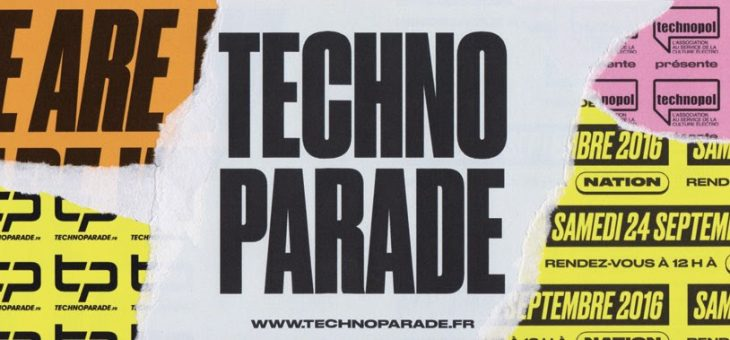 Techno-Parade, c'est samedi 24 septembre