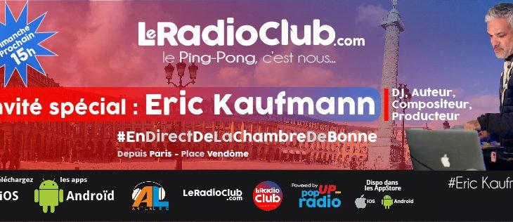 Devinez qui vient dans LeRadioClub ce dimanche ?