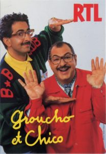 Groucho et Chico sur RTL
