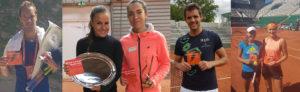 Joueurs de Tennis avec La Compil