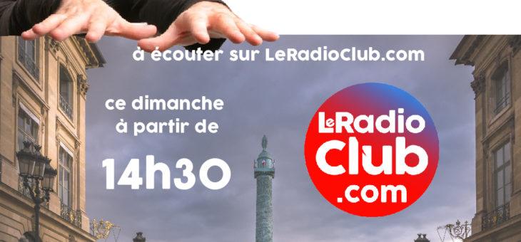 Ecoutez dès maintenant l'émission LeRadioClub Hommage Didier Sinclair