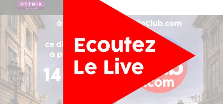 Ecoutez dès maintenant l'émission LeRadioClub avec Olivier RIOU