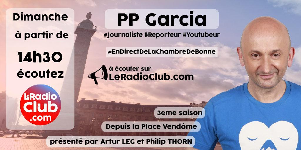 PP Garcia dans LeRadioClub