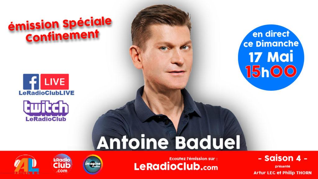 Antoine Baduel dans LeRadioClub