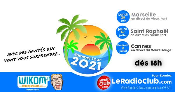Summer Tour 2021 dates LeRadioClub