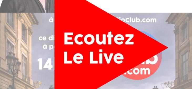 Ecoutez dès maintenant l'émission LeRadioClub avec Eric Madelon