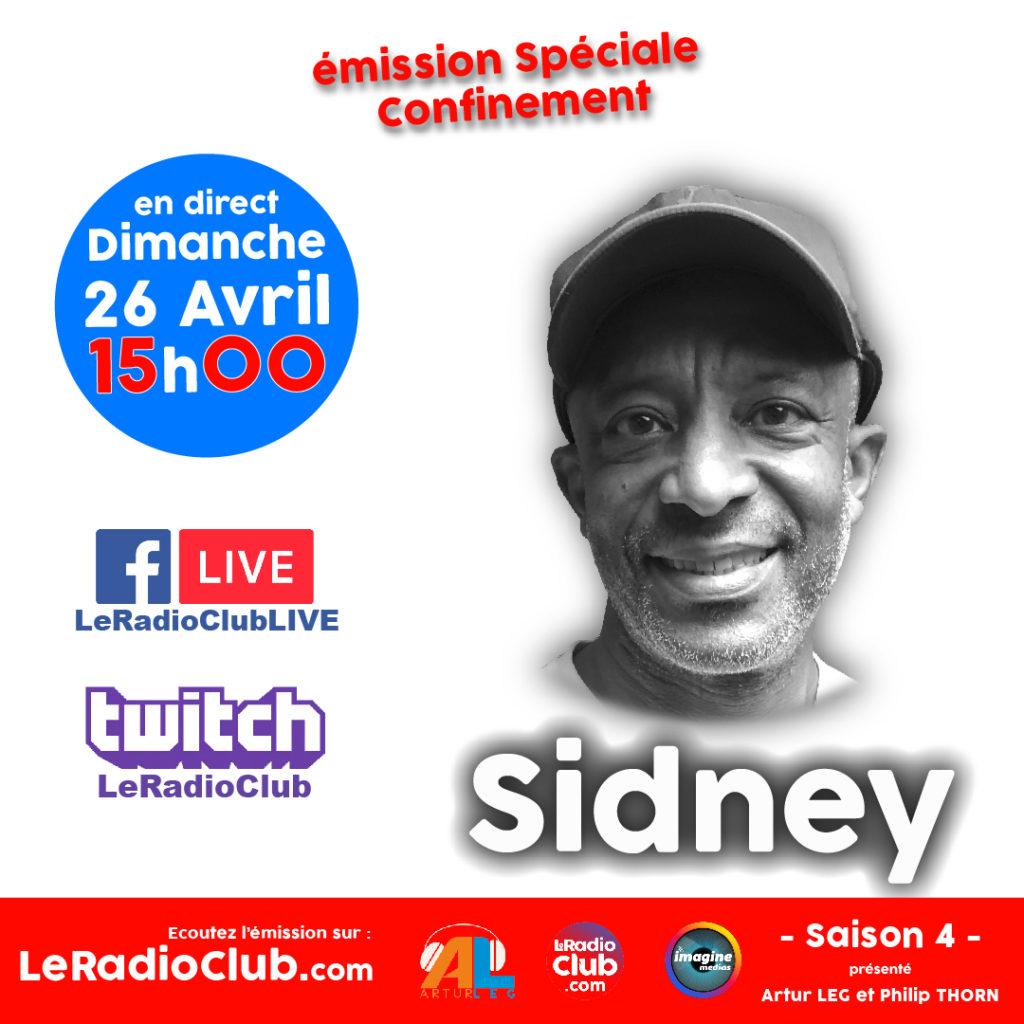 Sidney dans LeRadioClub