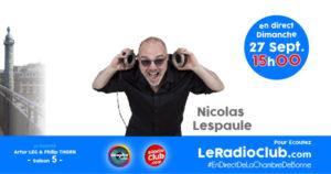 Nicolas LESPAULE dans LeRadioClub